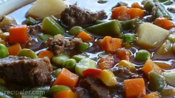 Texas Beef Soup