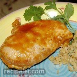 Texas Curried Chicken