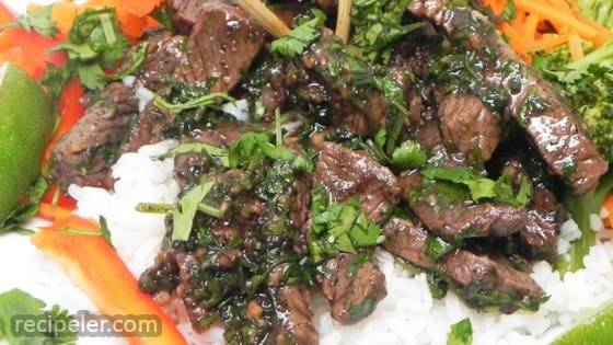 Thai Beef with Garlic and Black Pepper
