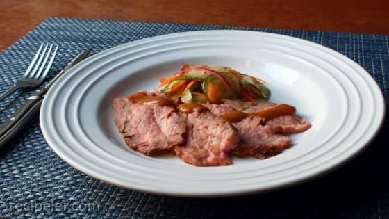 Thai-Dipped Beef Tri Tip