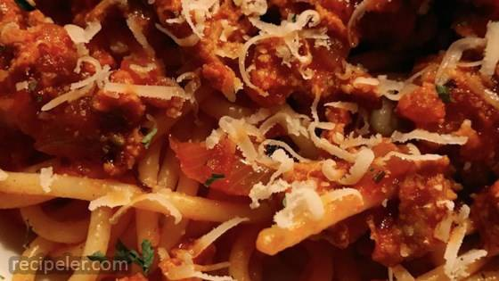 The Best and Easiest Spaghetti