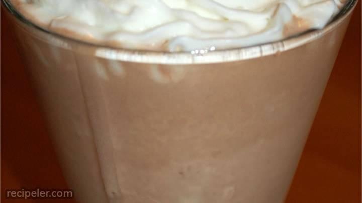thick chocolate shake