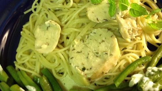 thyme mint chicken pasta