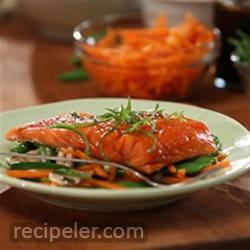 Tiffany's Asian-nfused Salmon Packets