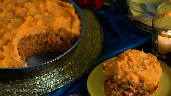 Tikka Masala Skillet Shepherd's Pie