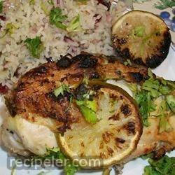 Tina's Best BBQ Lime Chicken