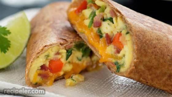 Toasted Breakfast Burritos