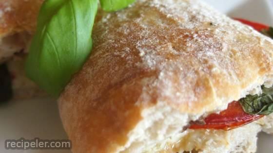 Toasted Caprese Sandwich