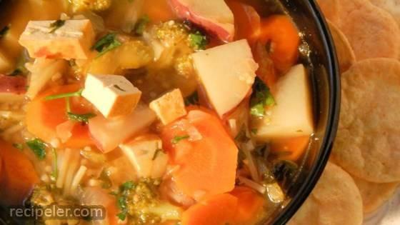 Tofu Noodle Soup