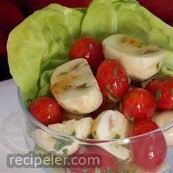 Tomato and Mushroom Salad