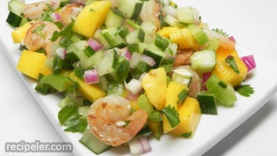 Topsail sland Shrimp Summer Salad