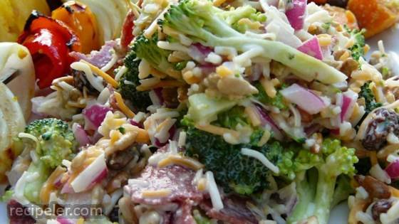 Toss-Together Broccoli Salad