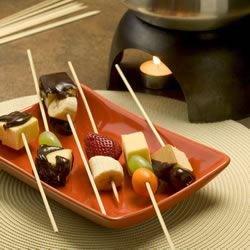 totally groovy chocolate fondue