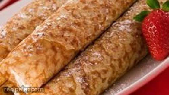 Traditional Cheese Blintzes