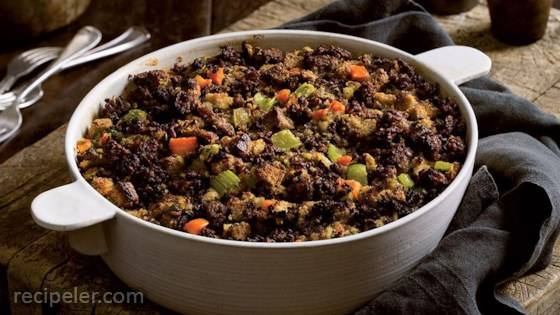 Traditional Sausage Stuffing