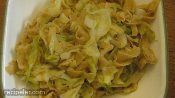 Transylvanian Cabbage and Noodles
