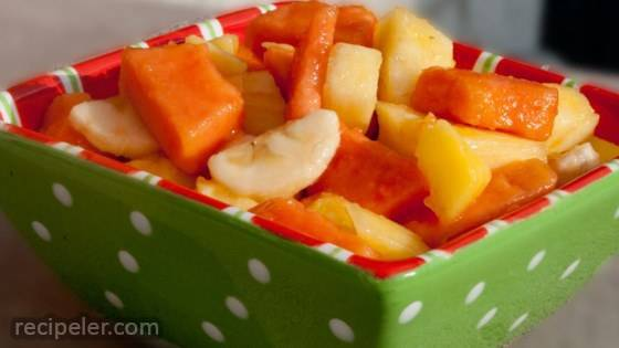 Tropical sland Fruit Salad