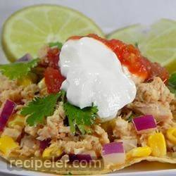 Tuna Lime Tostadas