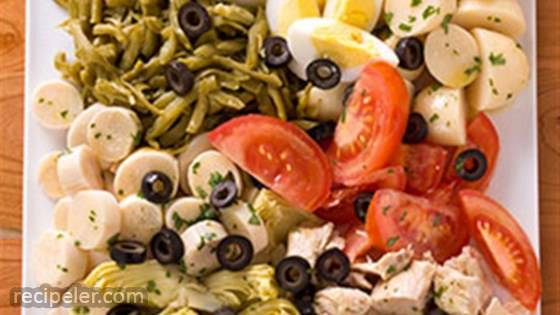 Tuna Nicoise Salad with Dijon Vinaigrette