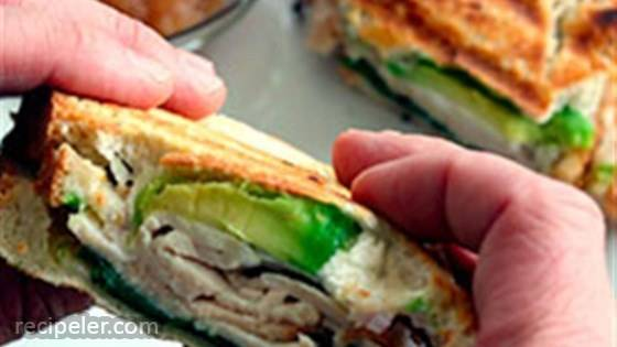 Turkey and Avocado Panini