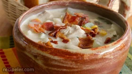 Turkey-Potato Chowder Recipe