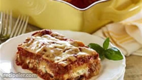 Tuscan Roasted Vegetable Lasagna