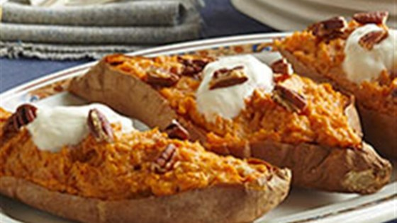 Twice-baked Sweet Potatoes From Voskos®