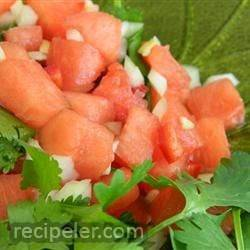Uncle Jon's Watermelon Salsa