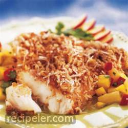 Utokia's Pecan Coconut Crusted Fish