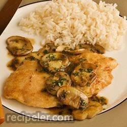 Veal or Chicken Marsala