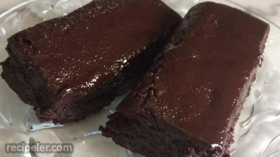 Vegan Cocoa Fudgy Gluten-Free Brownies