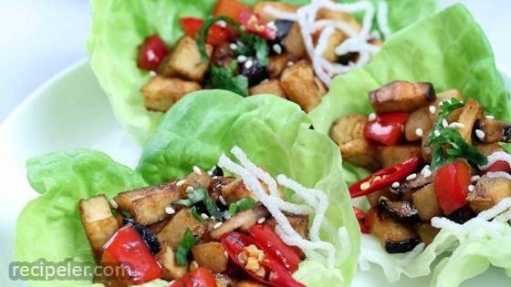 Vegan Lettuce Wraps
