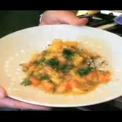 Vegan Potato And Butternut Squash Curry