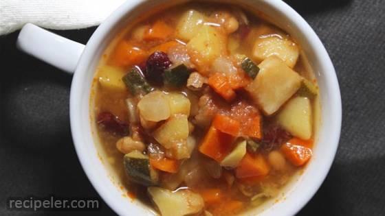 Vegan talian Garbanzo Bean Soup
