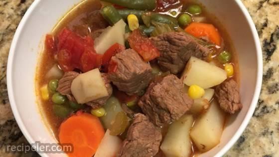 Vegetable Beef Soup