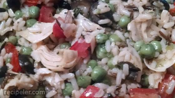 Vegetable Wild Rice Salad