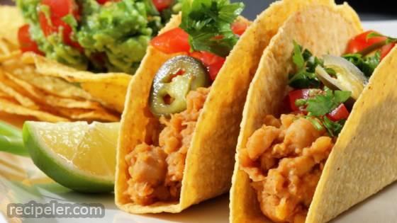 Vegetarian Chickpea Tacos