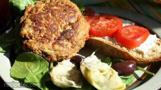 Vegetarian Faux Chicken Patties