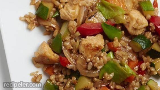 Veggie-Packed Chicken Fried Rice