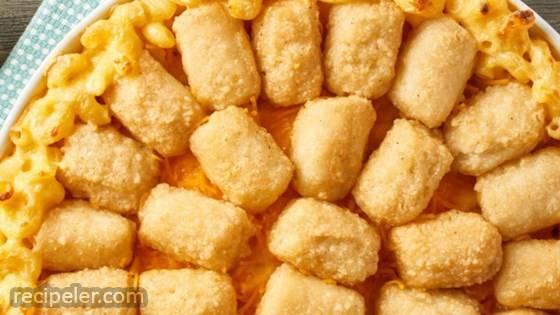 Veggie Tot Mac & Cheese