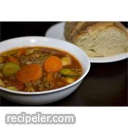Venison talian Soup
