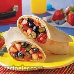 Very Berry Delicious Burrito