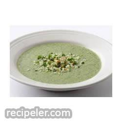Very Green Broccoli Soup