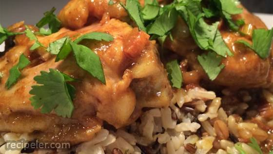 Vietnamese Lemon Grass Chicken Curry