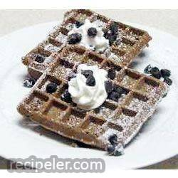 Waffle Ron Brownies