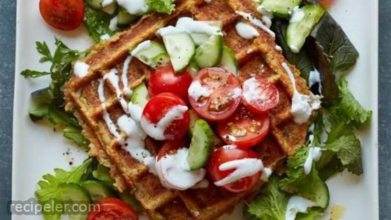 Waffled Falafel