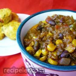 waistline-friendly turkey chili
