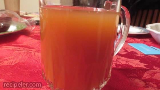 Warm Apple Citrus Punch