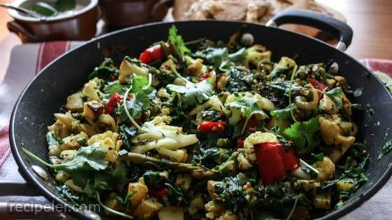 Weeknight Aloo Gobi Saag