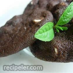 White Chip Chocolate Cookies